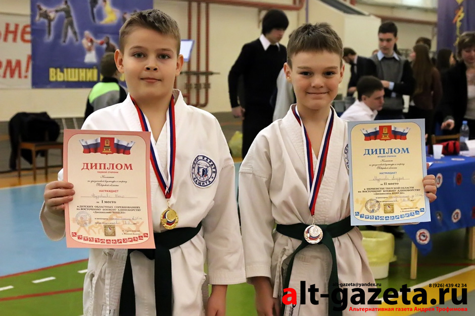 Каратисты из Сергиева Посада взяли шесть медалей