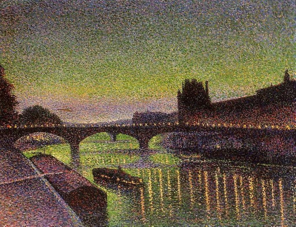 Le Louvre et le Pont du Carrousel, Effet de Nuit, 1890.jpg