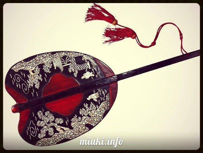 Японские веера. Веер утива и веер гумбай