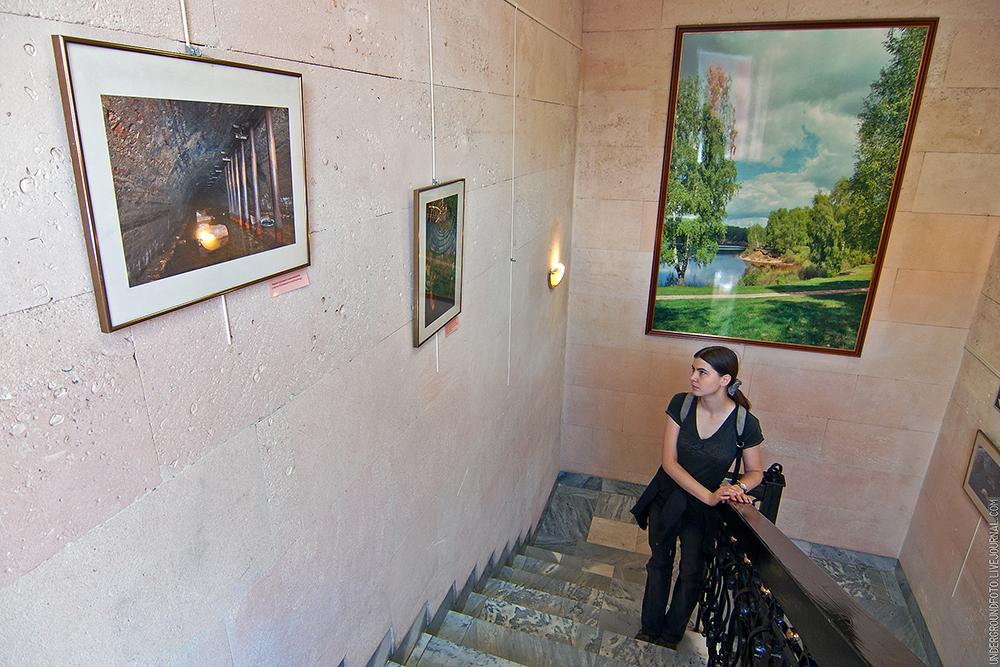 Выставка в музее воды