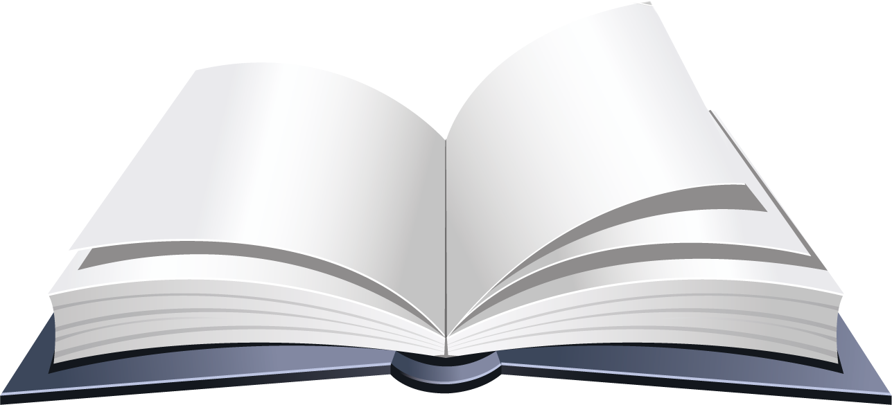 Картинка открытая книга на прозрачном фоне картинки