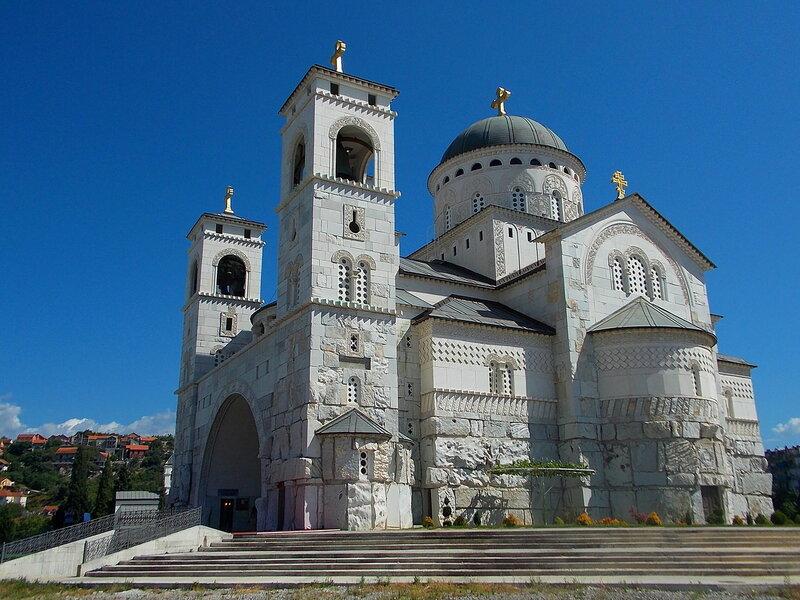 Кафедральный храм Воскресения Христова.  Черногория