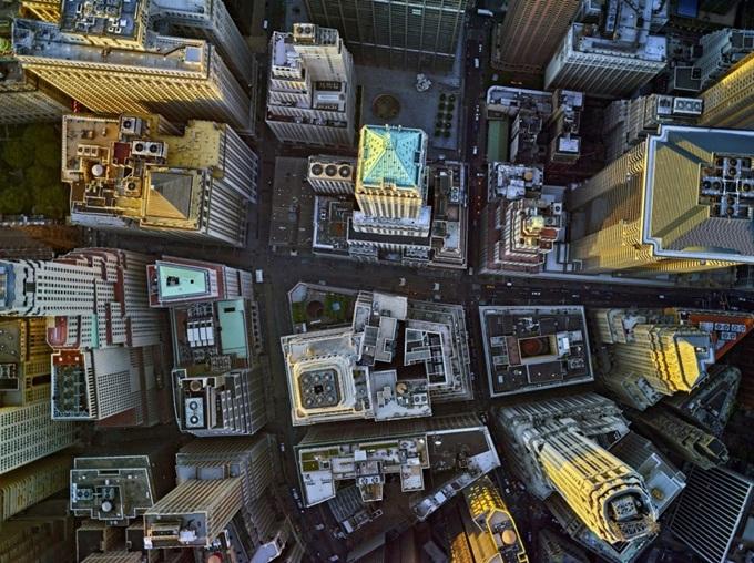 Центральный вокзал Нью-Йорка с высоты птичьего полета и другие красивые фотографии