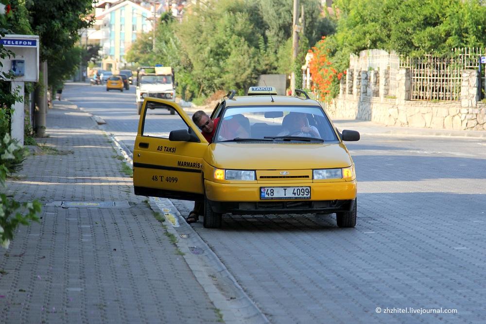 Такси в Мармарисе