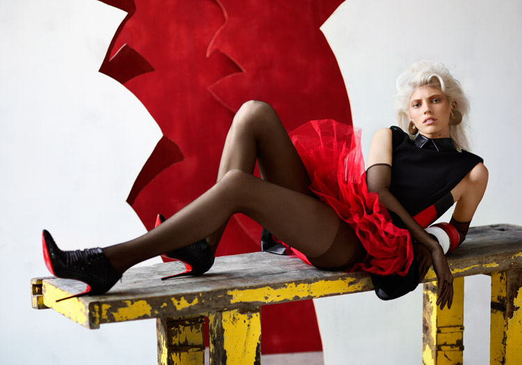 Девон Виндзор (Devon Windsor) в журнале Stylist France (10 фото)