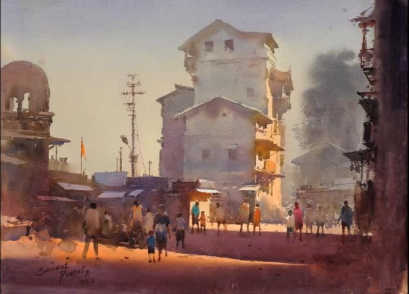 Прафул Савант, «Рассвет вНазике», Индия