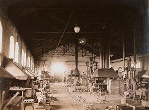 Вид части одного из цехов мастерской.