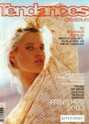 Журнал Phildar №382 2003 Maille Tendances Créateurs Printemps