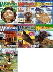 Журнал Creative Woodworks & Crafts № 68-74 2000