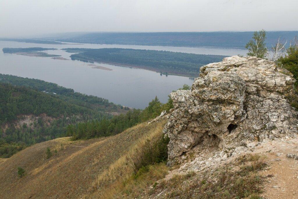 Гора Стрельная, Волга, Жигулевские горы