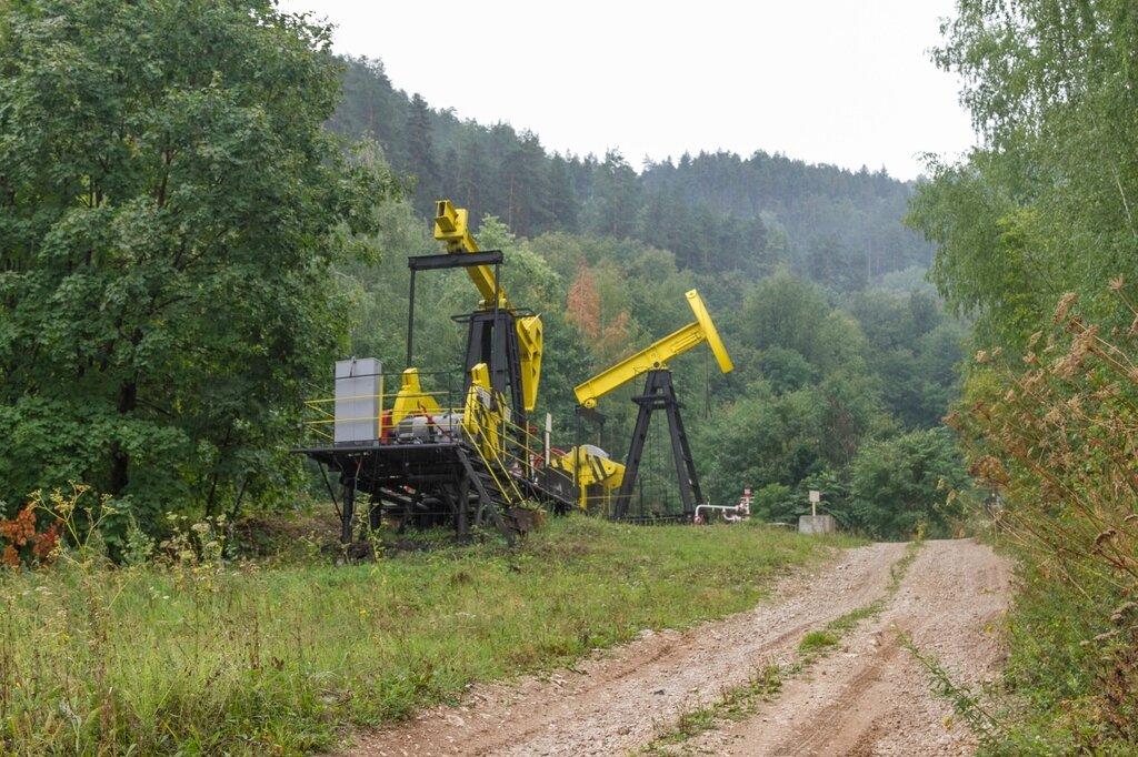 Нефтяная установка, Жигулевские горы