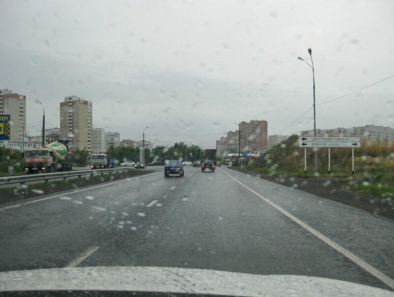 Одна из улиц в Тольятти