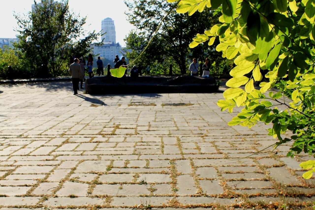 Площадка обозрения Старокиевской горы