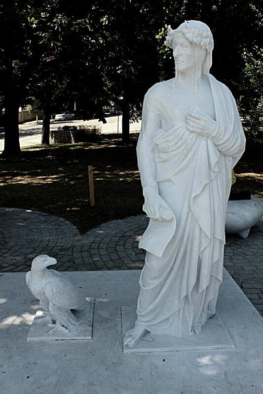 памятник данте киев