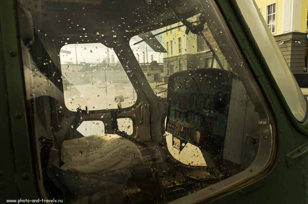 7. В кабине боевого вертолета. Музей техники в Верхней Пышме.