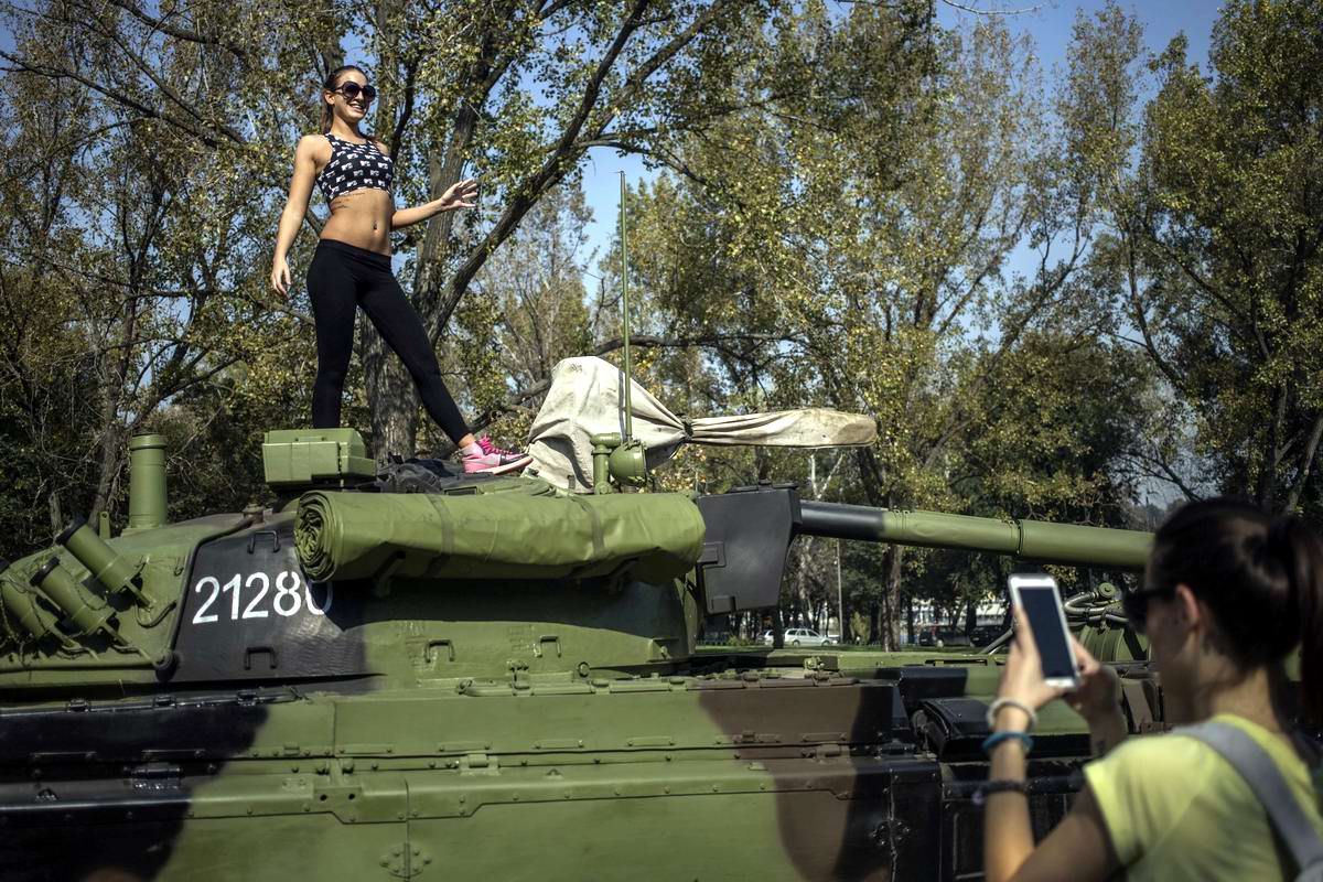 Танцы на крыше - лучший способ применения для танка