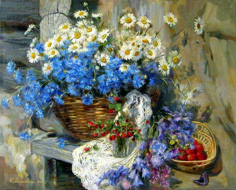 граждан полевые цветы на картинах художников привет УПК для