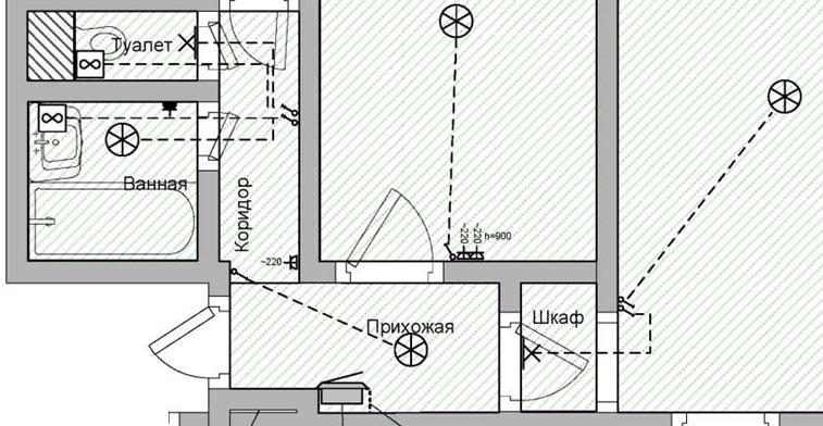 План проводки