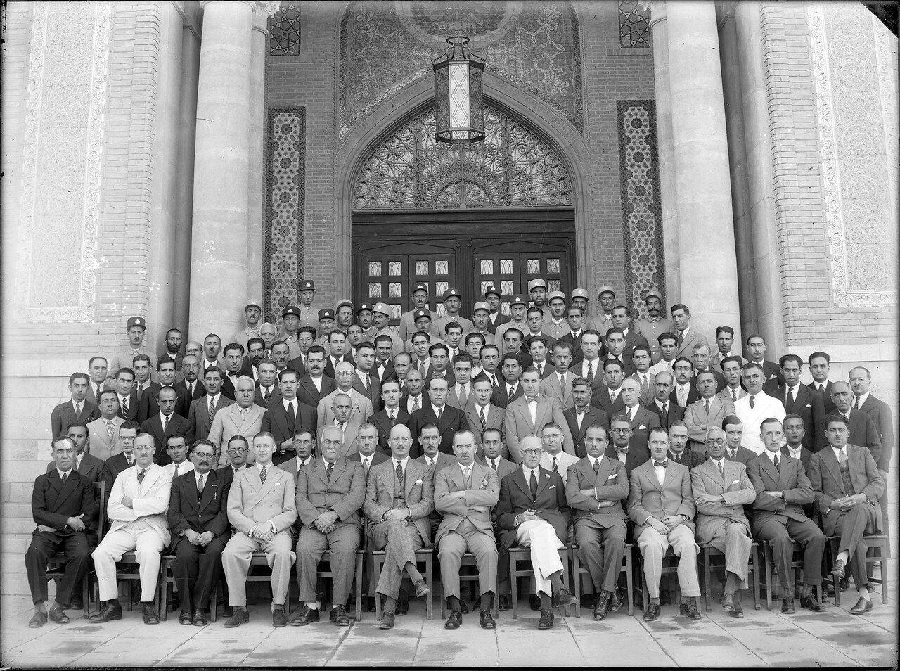 Сотрудники Имперского банка Ирана