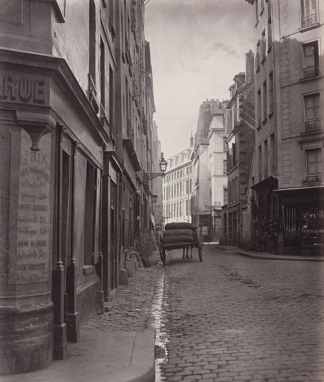 Рю де ля Бушери. 1866