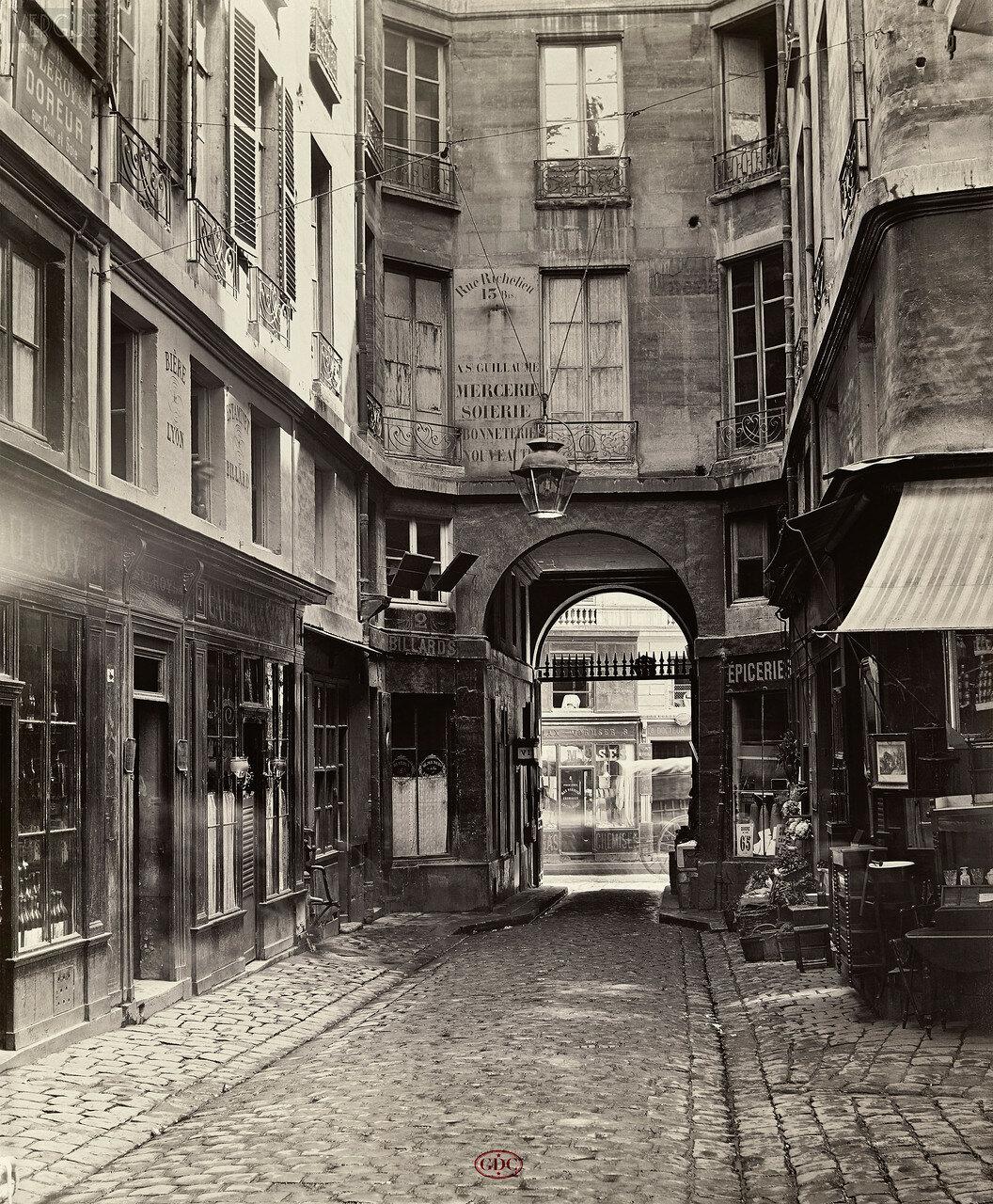 Проход Сен-Гийом. 1866