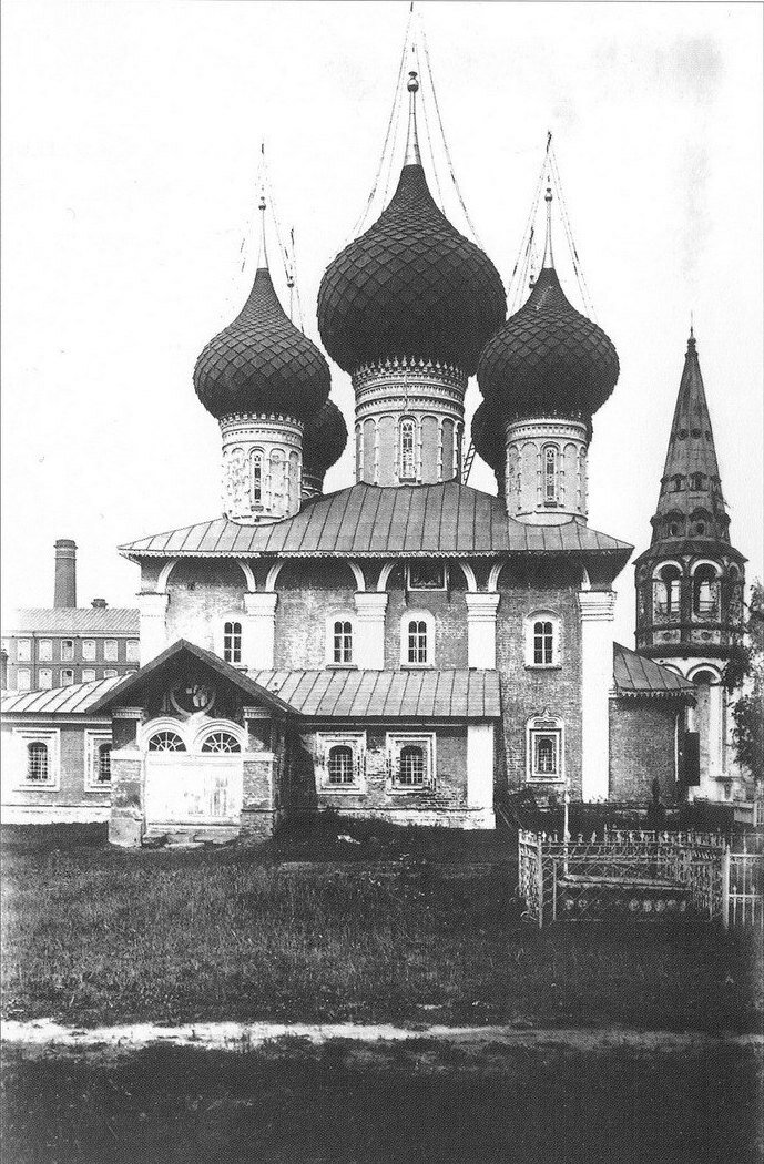 Церковь Николая Чудотворца в Меленках