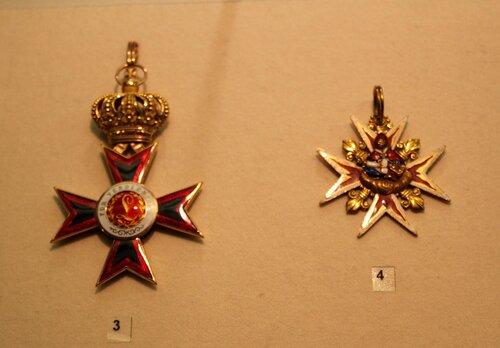 Большой крест ордена Людвига и Знак ордена св.Януария I класса