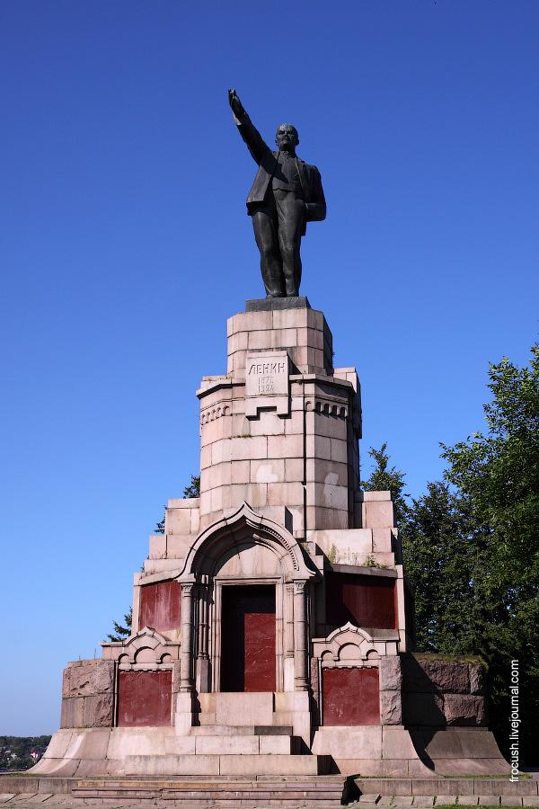 Кострома. Памятник Ленину