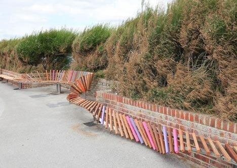 Самые длинные скамейки в мире