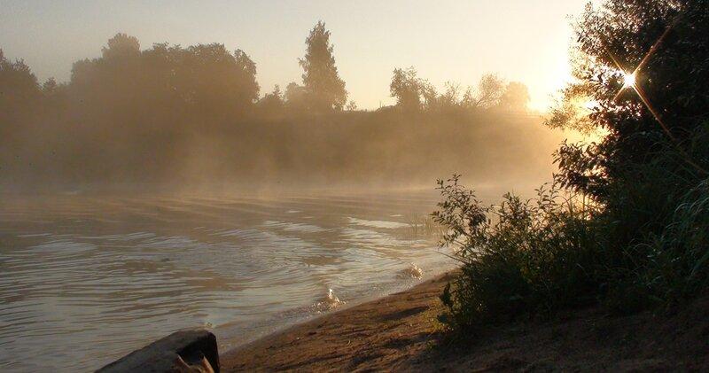 Сплав по реке Мсте