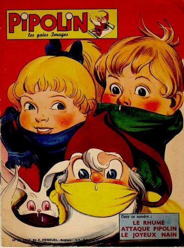 1959 год, обложка журнала Пиполин