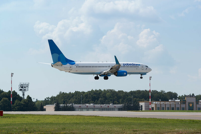 Boeing 737-8MA (VQ-BTC) Победа 0140_D804421