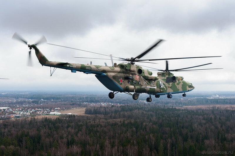 Миль Ми-8МТВ-5 (RF-90424 / 31 красный) ВКС России 080_D700511