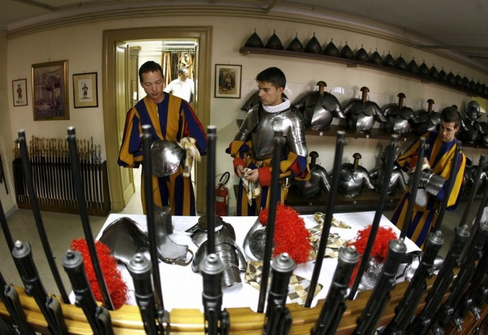 VATICAN-SWISS-GUARDS