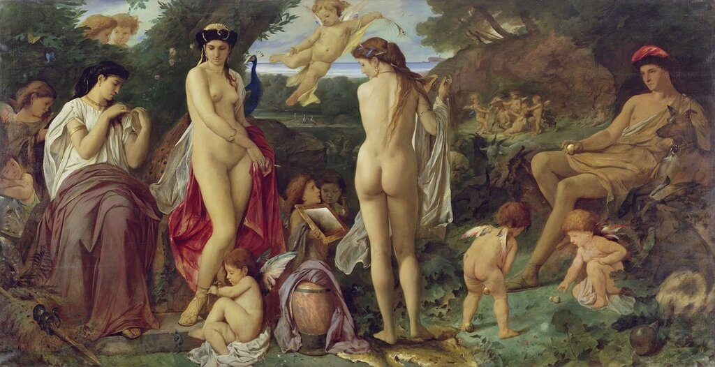 Ансельм Фауербах - Суд Париса 1869.jpg