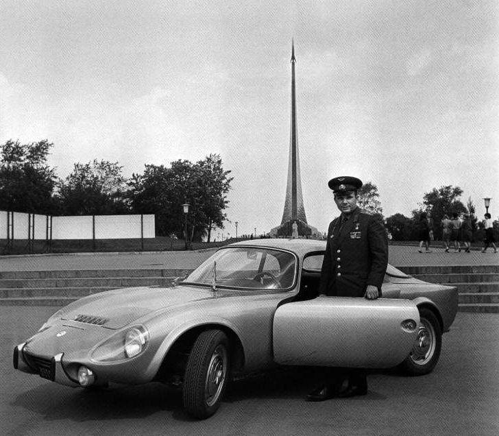 Юрий Гагарин и его Matra Bonnet Jet