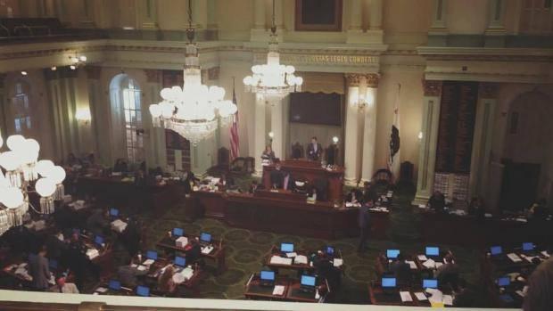 К 25-летию Независимости Украины сенат штата Калифорния принял резолюцию