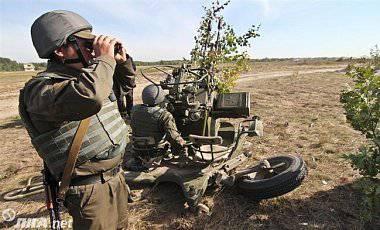 """Боевики 11 раз нарушили режим """"тишины"""": применяют 82-мм минометы и гранатометы, - пресс-центр штаба АТО"""