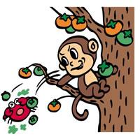 Сражение обезьяны с крабом