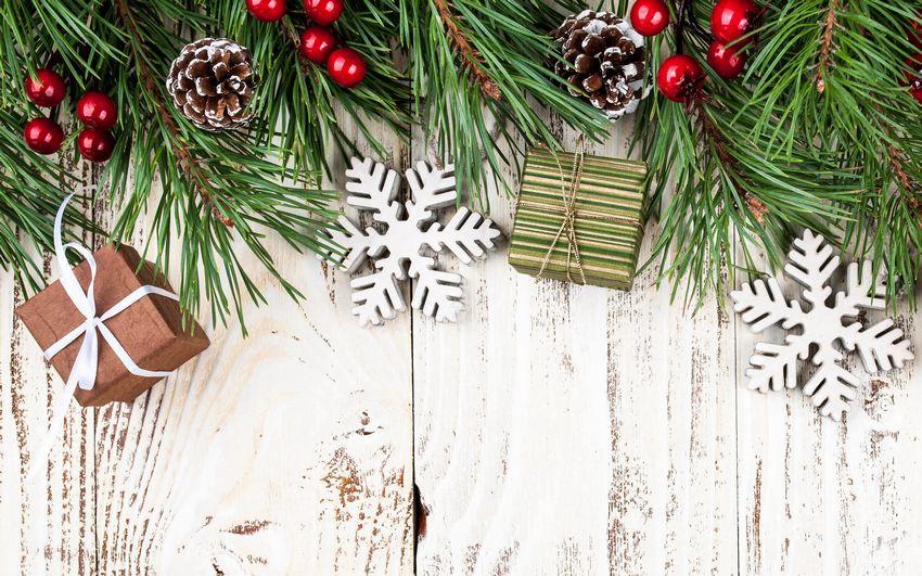 Новый год, новогодние фоны, сказка, открытка