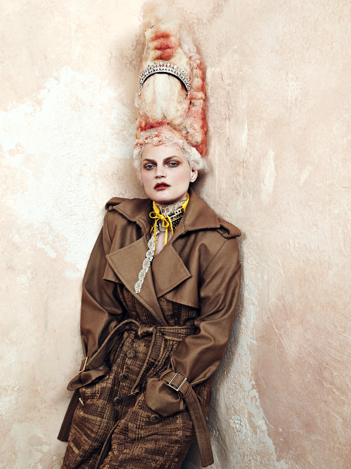 Vanity Hair CR Fashion Book Fall/Winter 2016 / Guinevere Van Seenus by Bjorn Iooss