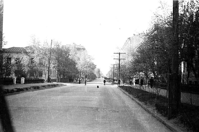 Городская улица.