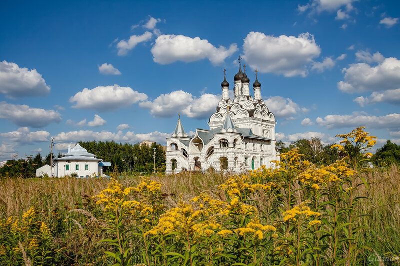 Церковь Благовещения Пресвятой Богородицы в Тайнинском ...