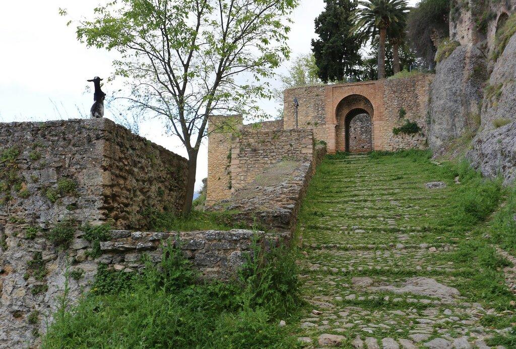 Ронда. Ворота Кихара (Puerta de la Cijara)