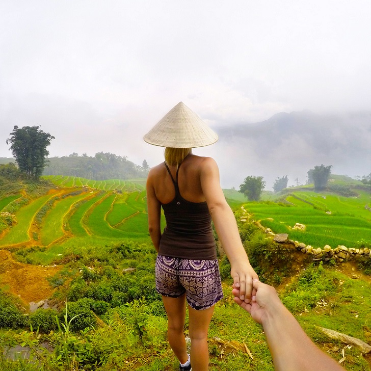 Рисовые поля Сапа, Вьетнам