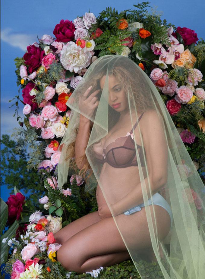 Беременная Бейонсе в фотосессии (7 фото)