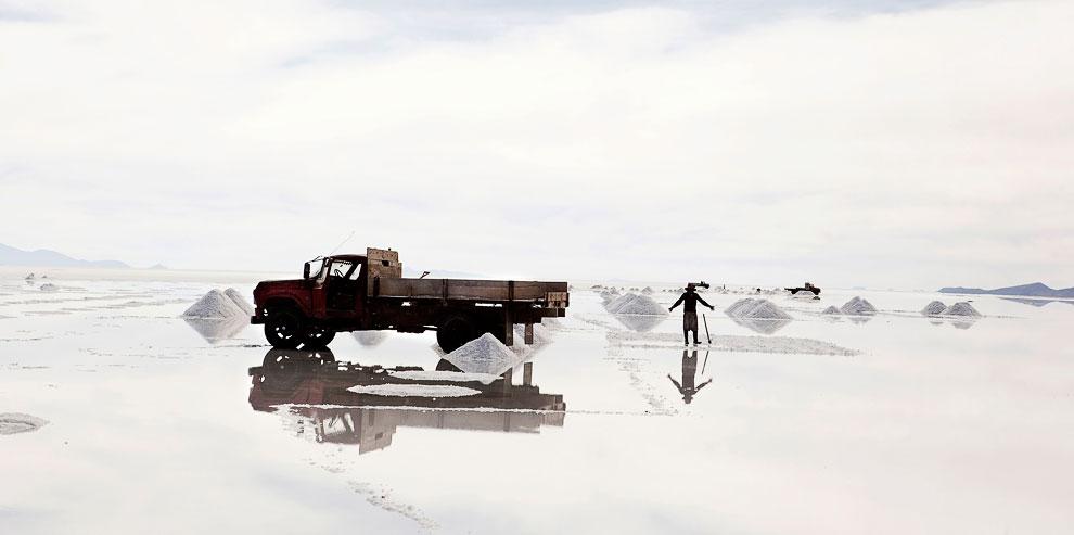 Безжизненный ландшафт . В этом районе из-за активно разрабатывающихся угольных шахт нет ни овец