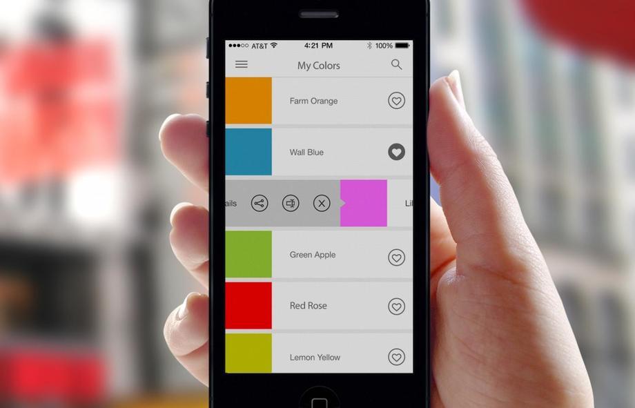 Чтобы получить нужный цвет, ручка смешивает существующие цвета вспециальном наконечнике, напоминающ
