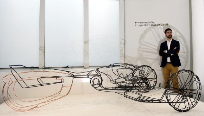 Autonome - проект 25-летнего испанца Хавьера Гарсиа Галлардо. Футуристичный автомобиль Autonome можн