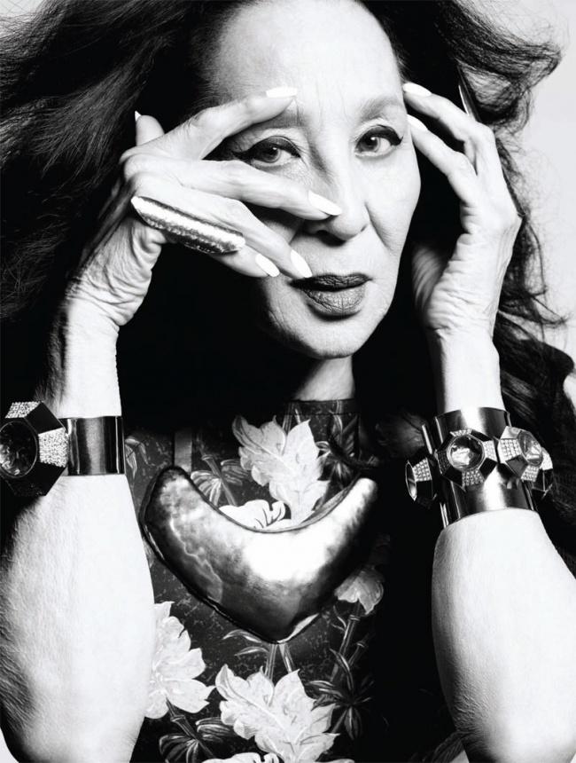 Чайна Машадо, 86 лет Супермодель стала знаменитой еще в молодости, была музой Юбера де Живанши. На п